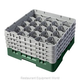Cambro 20S800119 Dishwasher Rack, Glass Compartment