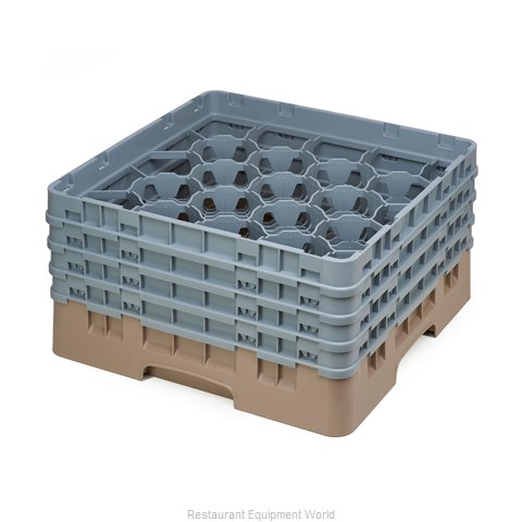 Cambro 20S800184 Dishwasher Rack Glass Compartment
