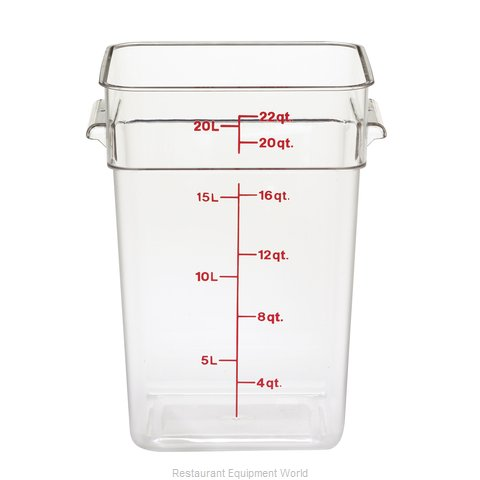 Cambro 22SFSCW135 CamSquare Food Container