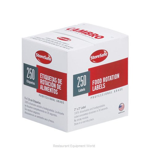 Cambro 23SLB250 Stickers Labels