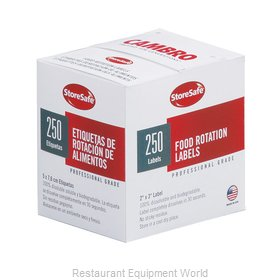 Cambro 23SLINB250 Stickers (Labels)