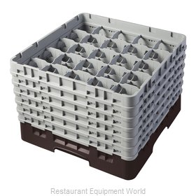 Cambro 25S1114167 Dishwasher Rack, Glass Compartment