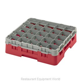 Cambro 25S418163 Dishwasher Rack, Glass Compartment