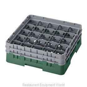 Cambro 25S434119 Dishwasher Rack, Glass Compartment