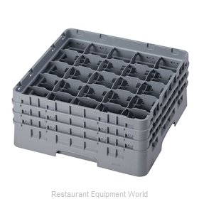 Cambro 25S638151 Dishwasher Rack, Glass Compartment