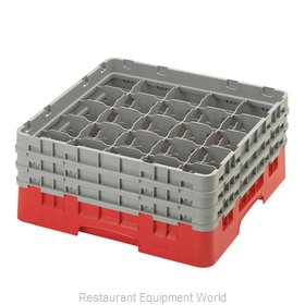 Cambro 25S638163 Dishwasher Rack, Glass Compartment