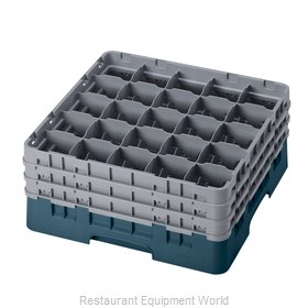 Cambro 25S738414 Dishwasher Rack, Glass Compartment
