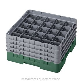 Cambro 25S800119 Dishwasher Rack, Glass Compartment
