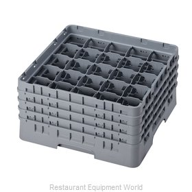 Cambro 25S800151 Dishwasher Rack, Glass Compartment