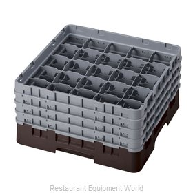 Cambro 25S800167 Dishwasher Rack, Glass Compartment
