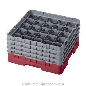 Cambro 25S800416 Dishwasher Rack, Glass Compartment
