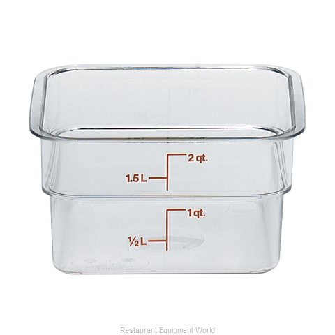 Cambro 2SFSCW135 CamSquare Food Container