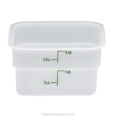 Cambro 2SFSP148 Food Storage Container, Square