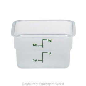 Cambro 2SFSPP190 Food Storage Container, Square