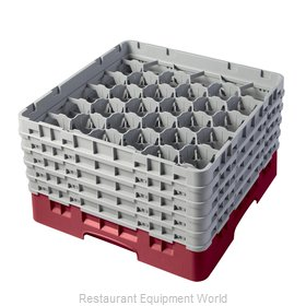 Cambro 30S958416 Dishwasher Rack, Glass Compartment