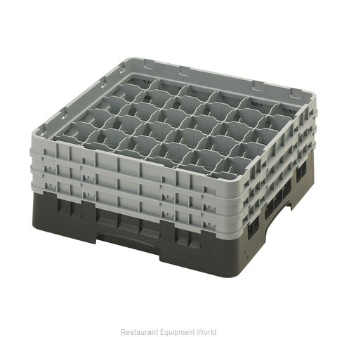 Cambro 36S638110 Dishwasher Rack, Glass Compartment