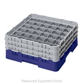 Cambro 36S638186 Dishwasher Rack, Glass Compartment