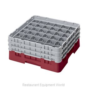 Cambro 36S638416 Dishwasher Rack, Glass Compartment