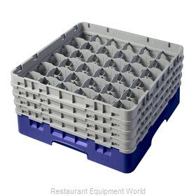 Cambro 36S800186 Dishwasher Rack, Glass Compartment
