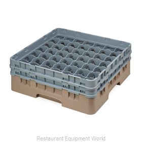 Cambro 49S434184 Dishwasher Rack, Glass Compartment