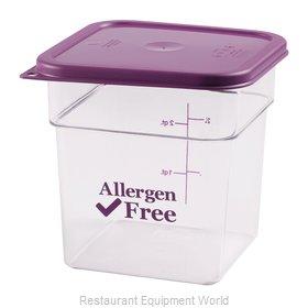 Cambro 4SFSCW441 Food Storage Container, Square