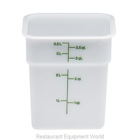 Cambro 4SFSP148 Food Storage Container, Square