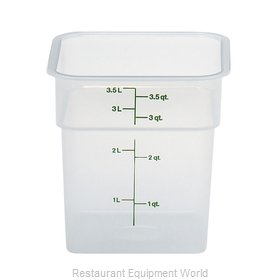 Cambro 4SFSPP190 Food Storage Container, Square