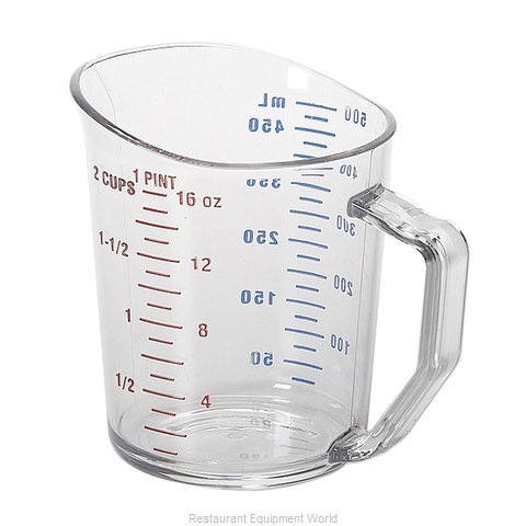 Cambro 50MCCW135 Measuring Cups (Magnified)