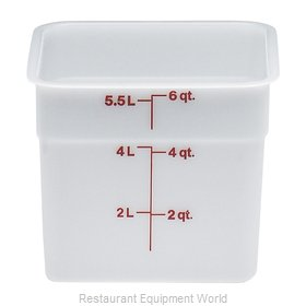 Cambro 6SFSP148 Food Storage Container, Square