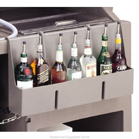 Cambro 730SR189 Speed Rail for Portable Bar (Magnified)