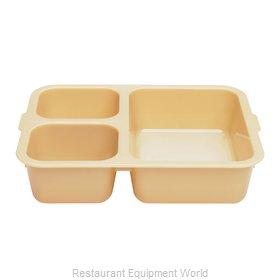 Cambro 853FCW133 Tray, Compartment, Plastic
