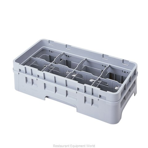 Cambro 8HC414151 Dishwasher Rack, Glass Compartment