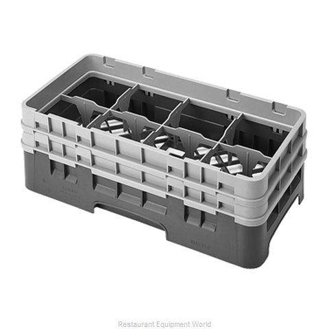 Cambro 8HS434184 Dishwasher Rack, Glass Compartment