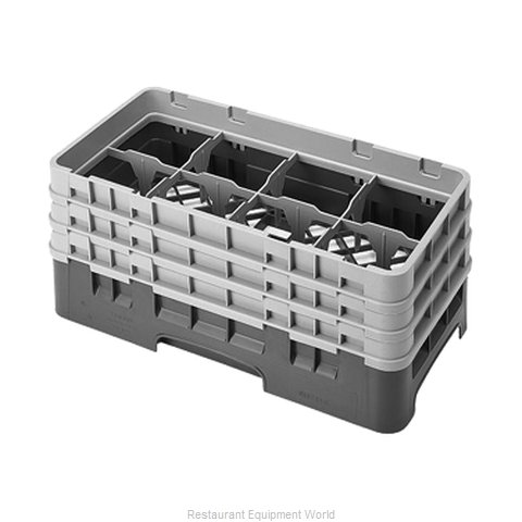 Cambro 8HS638184 Dishwasher Rack Glass Compartment