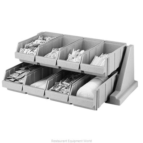 Cambro 8RS8131 Condiment Organizer Bin Rack (Magnified)