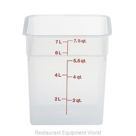 Cambro 8SFSPP190 Food Storage Container, Square