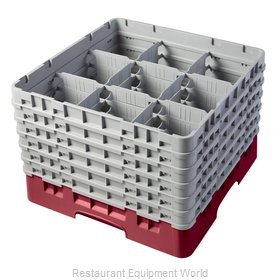 Cambro 9S1114416 Dishwasher Rack, Glass Compartment