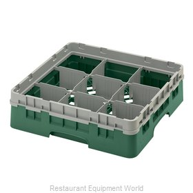 Cambro 9S318119 Dishwasher Rack, Glass Compartment