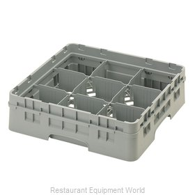 Cambro 9S318151 Dishwasher Rack, Glass Compartment