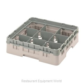 Cambro 9S318184 Dishwasher Rack, Glass Compartment