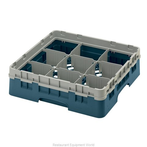 Cambro 9S318414 Dishwasher Rack, Glass Compartment