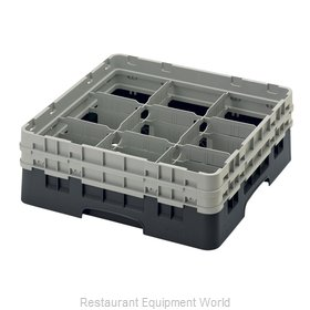 Cambro 9S434110 Dishwasher Rack, Glass Compartment
