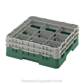 Cambro 9S434119 Dishwasher Rack, Glass Compartment
