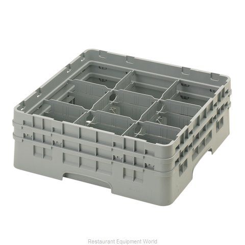 Cambro 9S434151 Dishwasher Rack, Glass Compartment