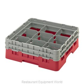 Cambro 9S434163 Dishwasher Rack, Glass Compartment