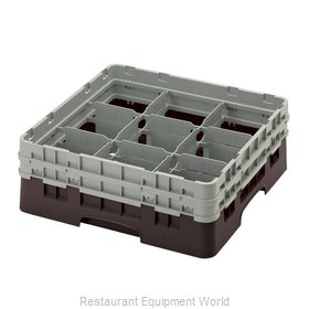 Cambro 9S434167 Dishwasher Rack, Glass Compartment