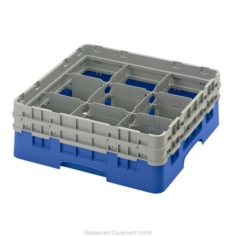 Cambro 9S434168 Dishwasher Rack, Glass Compartment