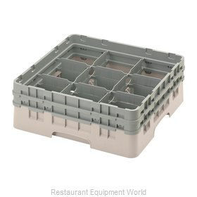 Cambro 9S434184 Full Size Glass Rack