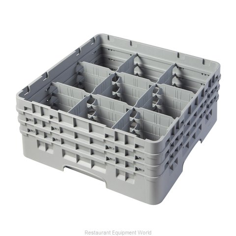 Cambro 9S638151 Dishwasher Rack, Glass Compartment
