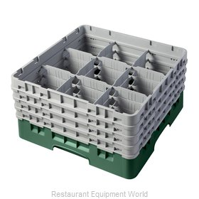Cambro 9S800119 Full Size Glass Rack